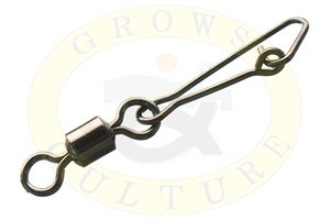 Rolling Swivel with Hooked Snap