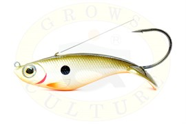 Воблер-незацепляйка Grows Culture Weedless Shad 90мм, 18гр, RFSH