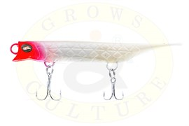 Силиконовый воблер Grows Culture Viper 80мм, Red Head