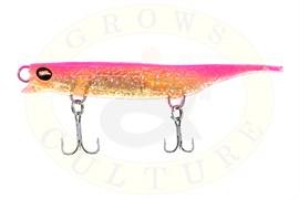 Силиконовый воблер Grows Culture Viper 80мм, Pink Gold