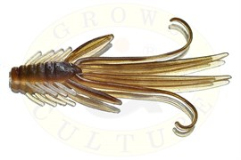 Нимфы Trout Red Bass 50мм, brown/silver
