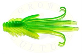 Нимфы Trout Red Bass 50мм, fluo/green