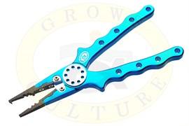"""Grows Culture Aluminium Fishing Pliers 7"""" (синий)"""
