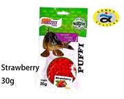 воздушное тесто PUFFI GRIZZLY baits Strawberry